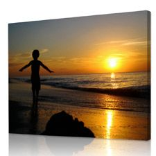 Turn your photo in a canvas print...great idea as a gift