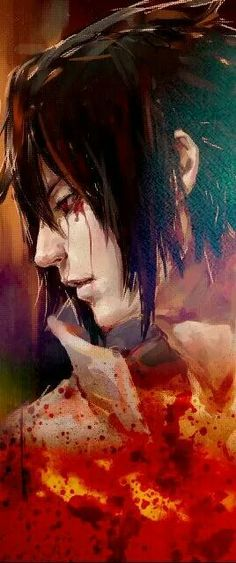I have an un-healthy obsession with Uchiha Sasuke.