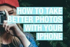 Although nothing could replace the quality and feel of a high-quality digital SLR camera… there are some moments in life where your iPhone will have to do the trick. Instagram is centred around iPhone image and more and more of our social media lives are becoming 'in the moment.' Knowing how to takebetter photoswith your …