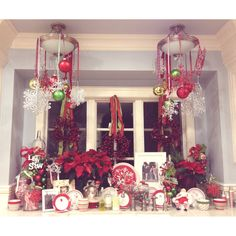 Window And Door Dressing Specially For Holiday Christmas Party