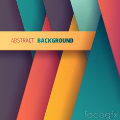 Plug color stacked paper background vector