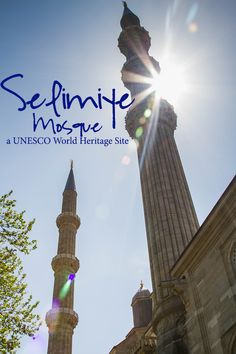 On the European side of Turkey lies a small city called Edirne.  Surprisingly, it is not visited by many tourists even though it is home to one of their most beautiful world heritage sites, the Selimiye Mosque.  Have you been?  Click here to see photos of this unusual sight.  ~ReflectionsEnroute