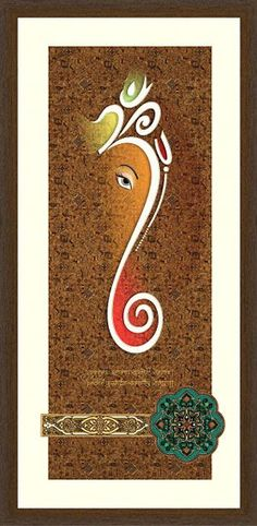 22 ideas for eye watercolor tattoo Ganesha Painting, Buddha Painting, Ganesha Art, Ganesh Pic, Texture Painting On Canvas, Canvas Art, Indian Gods, Indian Art, Om Art