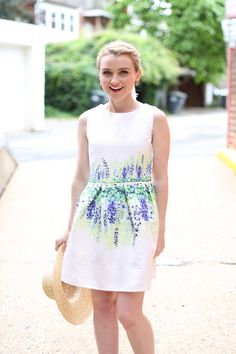 White Floral Sundress - via @poorlilitgirl (Poor Little It Girl)