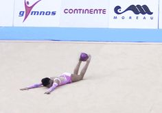 Zhala Piriyeva (AZE) ball - Lisbon WC 2014 - Junior Ball Final