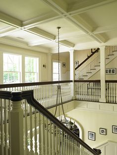 The upper landing should be just as detailed as the Foyer below...