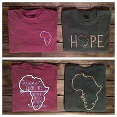 Africa Internship Fundraiser Shirt Comfort Colors Short Sleeve T-Shirt