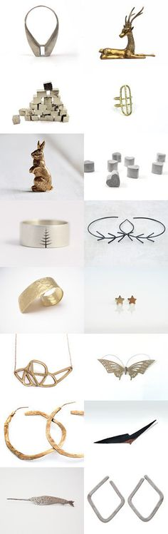 minimal metal by Kadie Salfi on Etsy--Pinned with TreasuryPin.com