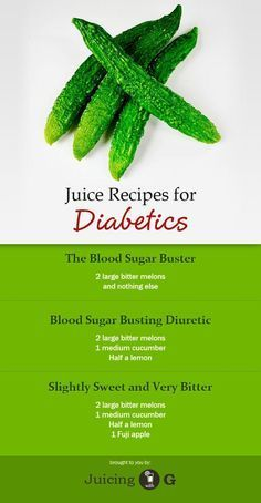 3 juice recipes that will actually lower your blood sugar level. This recipes are great for diabetics and pre-diabetics.