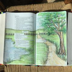 psalm.23 bible journaling - Google Search