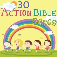 Sing along learning fun! 30 of your Favorite action bible songs! School Fun, Sunday School, Action Bible, Bible Songs, Bible School Crafts, Activities For Girls, Vacation Bible School, Catholic School, Toddler Play