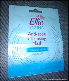 My Cosmetic Case: Ellie Young antibakteriálna čistiaca pleťová maska...