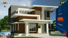South Indian House Architecture 2 Storey Display Homes Collections House Outside Design, Small House Design, Modern House Design, Indian Home Design, Kerala House Design, Contemporary House Plans, Modern House Plans, Contemporary Architecture, Style At Home