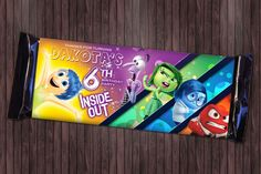 chocolate label template inside out free printable - Google Search