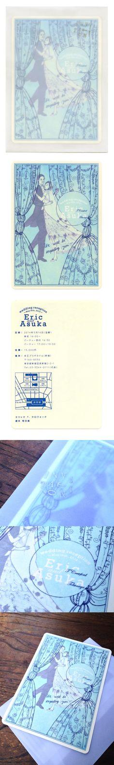 shun yonemura E&A_wedding invitation It Works, Wedding Invitations, Graphic Design, Frame, Home Decor, Picture Frame, Decoration Home, Room Decor, Wedding Invitation Cards