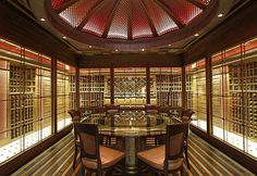 A State-of-the-Art Private Wine Cellar