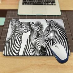 Zebras 2016!New Custom Dest Computer Gaming Mouse Pad for Size 18x22cm and 25x29cm