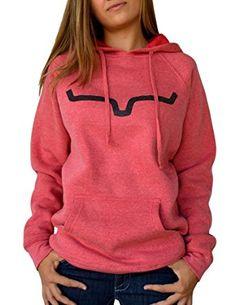 Naketano Glitzermuschi II W hoodie orange neon heather