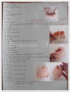 amigurumi bebek, örgü oyuncak bebek tarifi, örgü bebek yapılışı,free pattern