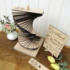 This is the best and most creative wedding guest book all of the world! Build memories with guests in your big day! Choose this beautiful and innovative wedding guestbook alternative and accept the greetings and wishes from your guest with this. ~ PRODUCT INCLUDES ~ - A specified