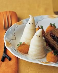 Halloween Mashed Boo-tatoes Recipe