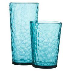Hammer Drinkware Set of 8 - Aqua