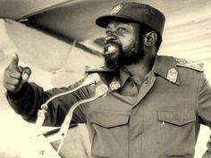 Samora Machel, em dias melhores. Black African American, African American History, Great Leaders, World History, Ghana, Old And New, Black Men, South Africa, Presidents