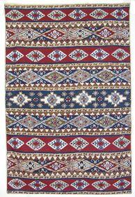 handbestickte Kettenstich Kaschmir Teppich No:3