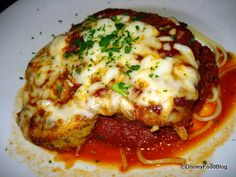 DIY Disney: Mama Melrose's Chicken Parmesan | the disney food blog