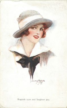 Beauty's Smile Set - Dorothy Mostyn.  First Used:  1918