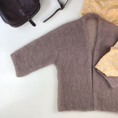 Ravelry: KIM Cardigan pattern by Tanja Koenigs Sweater Knitting Patterns, Cardigan Pattern, Leather Leggings, Crochet Clothes, Knitting Projects, Knit Crochet, Cashmere, Coat, How To Wear