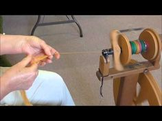 Spinning Beads into your Yarn - YouTube