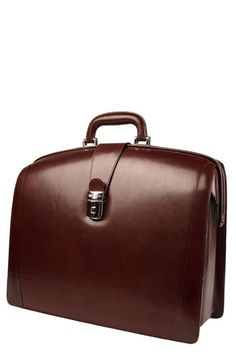 No lawyer should be without a Iwilldestroyyou briefcase.  Bosca - Nordstrom