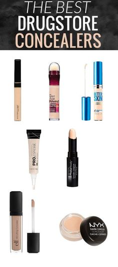 The Best Drugstore Concealers - these 7 best drugstore concealers have got you covered - from under eye darkness to blemishes