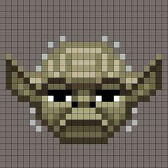 Pixel ID Card 'Yoda'