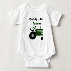 Daddy's Lil Farmer Shirt