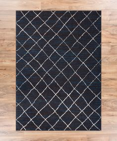 """Moroccan Lattice Vintage Modern Casual Traditional Trellis 5x7 ( 5'3"""" x 7'3"""" ) Area Rug Thick Soft Plush and Shed Free."""