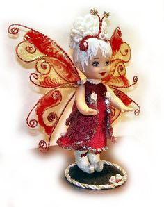 Fairy doll by Kathleen  Beautiful!