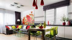 Nastrój mieszkania kreuje odpowiednia kolorystyka