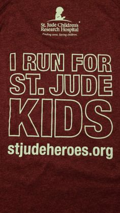 St. Jude Heroes   Gearing up for the St. Jude marathon and half