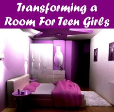 Including a toss pillow or 2 is another cost-efficient way of bringing some additional color and texture into your teen bed room -- Look into this wonderful item. Teen Bedding Sets, Teen Girl Bedding, Teen Girl Bedrooms, Teen Bedroom, Dream Rooms, Dream Bedroom, Bedroom Bed, Bed Room, Striped Curtains