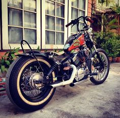 Xv virago old school BKK Virago Bobber, Virago 535, Honda Bobber, Custom Motorcycles, Custom Bikes, Custom Bobber, Chopper Motorcycle, Bobber Chopper, Bike Storage Design
