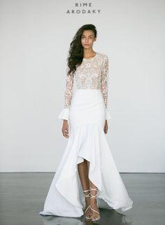 Top 11 Bridal Trends for 2017 - Hi Low Hemlines