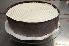 Tort aniversar cu mousse de ciocolata si jeleu de portocale (entremet)   Savori Urbane Ale, Desserts, Tailgate Desserts, Deserts, Ale Beer, Postres, Dessert, Ales, Plated Desserts
