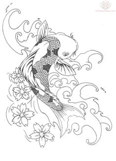 Koi Tattoo Designs for Women Koi Tattoo Design, Coy Fish Tattoos, Asian Tattoos, Koi Fish Tattoo Forearm, Geisha Tattoos, Half Sleeve Tattoos Drawings, Koi Painting, Pisces Tattoos, Tatoos