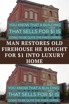 You know that a building that sells for $1 is going to be quite the fixer-upper. When Walnut Hills – a once-thriving area of Cincinnati, Ohio in the 1850s – fell on tough times, the buildings were abandoned and began to crumble. Everyone had moved out to the suburbs. #actsofkindness #faith #family #heartwarming #heroes #inspiring #kindness #parents #people #reunion #shocking