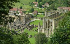 Rievaulx Abbey from Rievaulx Terrace ~ North Yorkshire, England