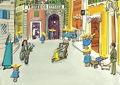 Ludwig Bemelmans' first introduced the plucky heroine back in 1939. Now, his grandson carries on the tradition of the little girls in two straight lines. And if there was any confusion, he would like to set the record straight: It's not an orphanage; Miss Clavel is not a nun; and Madeline isn't French.