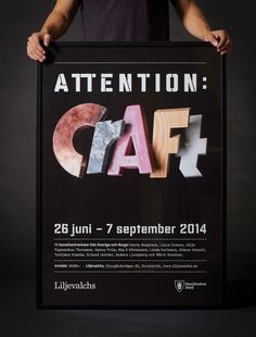 attention-craft_poster_01-snask-creative-agencies