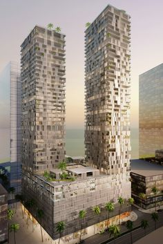 WAA Unveil Bahrain Bay Tower in Manama,© Wiel Arets Architects